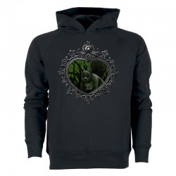MIRROR »SQUIRREL« men's hoodie