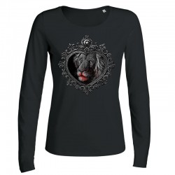 MIRROR »LION« ladies longsleeve