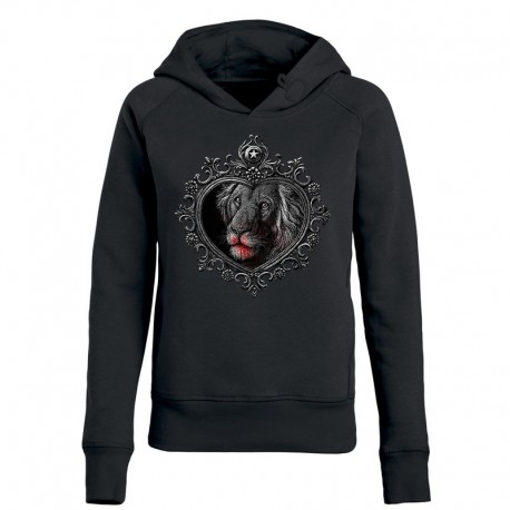 MIRROR »LION« ladies hoodie