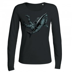 SHARK ATTACK ladies longsleeve