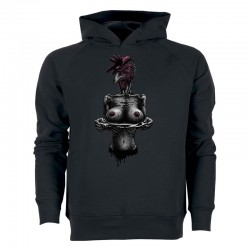 TASTY CHICKS men's hoodie