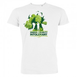 ANIMAL CRUELTY INTOLERANT men's t-shirt