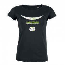 WHAT'S YOUR BEEF? ladies t-shirt