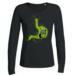 NO DEAD ANIMALS INSIDE ladies longsleeve