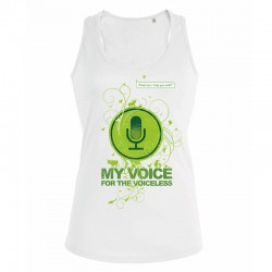 MY VOICE ladies tank top