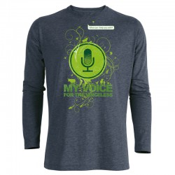 MY VOICE men's longsleeve