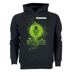 MY VOICE men's hoodie