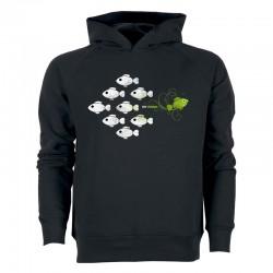 VEGANS DARE men's hoodie