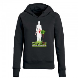 WHAT ARE YOU AFRAID OF? ladies hoodie