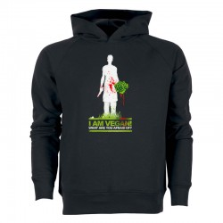 WHAT ARE YOU AFRAID OF? men's hoodie