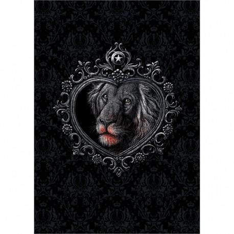 MIRROR »LION« poster
