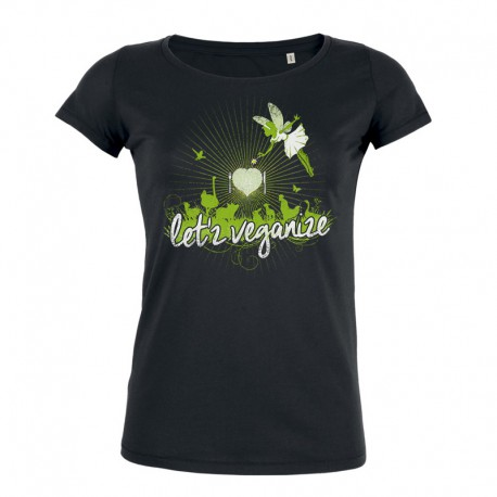 LET'Z VEGANIZE ladies t-shirt