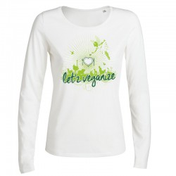 LET'Z VEGANIZE ladies longsleeve