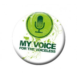 MY VOICE button