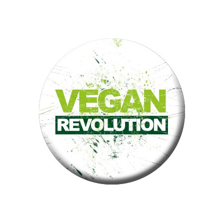 VEGAN REVOLUTION button