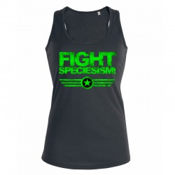 FIGHT SPECIESISM! ladies tank top