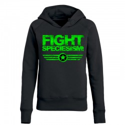 FIGHT SPECIESISM! ladies hoodie