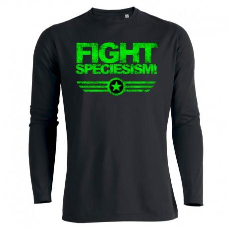 FIGHT SPECIESISM! men's longsleeve