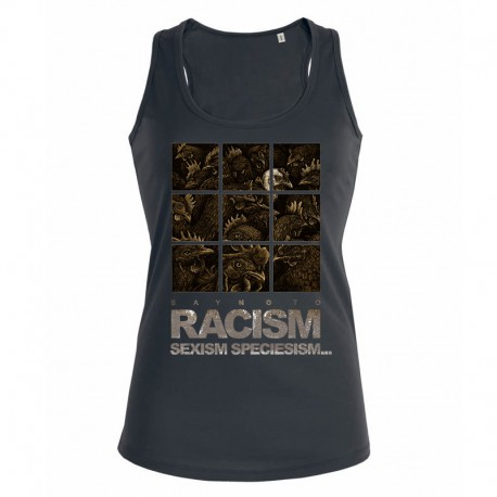 RACISM 4 ladies tank top
