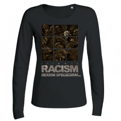 RACISM... ladies longsleeve