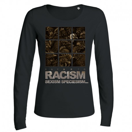 RACISM 4 ladies longsleeve