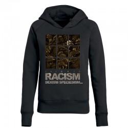 RACISM 4 ladies hoodie