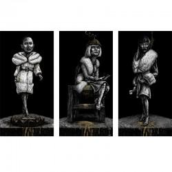 LESSON 8 fine art print (triptychon)