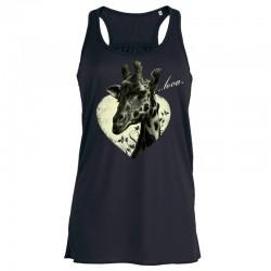 ...TO LOVE ladies flowy tank top