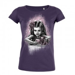 PAULA, 5 (distressed) ladies t-shirt