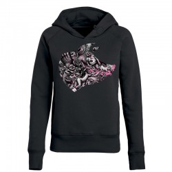 BLOODY HELL! »PORK« ladies hoodie