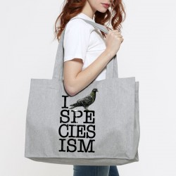 I ☠ SPECIESISM shopping bag