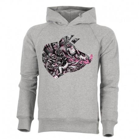 BLOODY HELL! »PORK« men's hoodie
