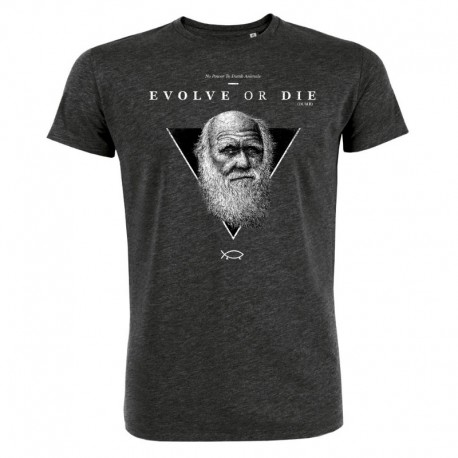 EVOLVE OR DIE (DUMB) men's t-shirt