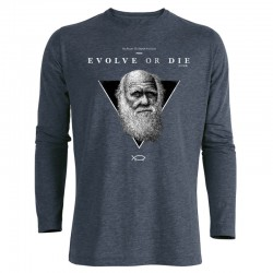 EVOLVE OR DIE men's longsleeve