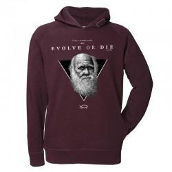 EVOLVE OR DIE men's hoodie