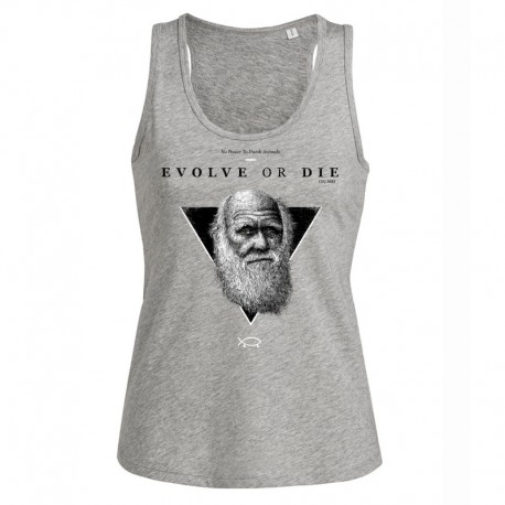 EVOLVE OR DIE ladies tank top