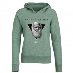 EVOLVE OR DIE ladies hoodie