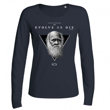 EVOLVE OR DIE ladies longsleeve