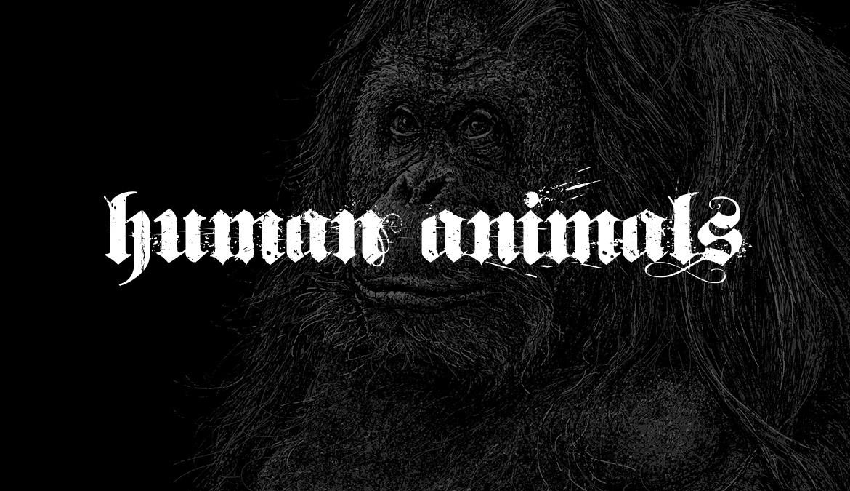 """""""Der Mensch ist das einzige Tier, das sich einbildet, keines zu sein."""" (Gerlinde Nyncke)"""