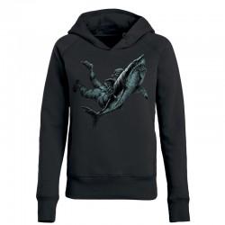 SHARK ATTACK ladies hoodie