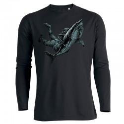 SHARK ATTACK men's longsleeve