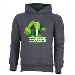ANIMAL CRUELTY INTOLERANT men's hoodie