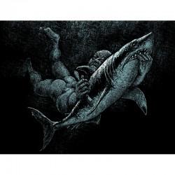 SHARK ATTACK fine art print