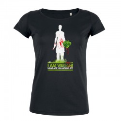WHAT ARE YOU AFRAID OF? ladies t-shirt