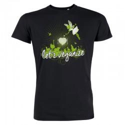 LET'Z VEGANIZE men's t-shirt