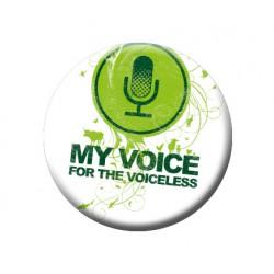 MY VOICE button
