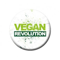 VEGAN REVOLUTION button