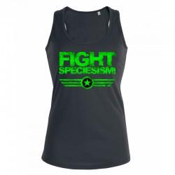 FIGHT SPECIESISM! ladies tank top