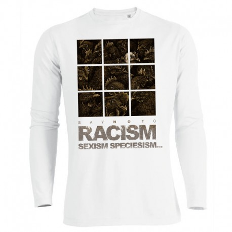 RACISM 4 men's longsleeve