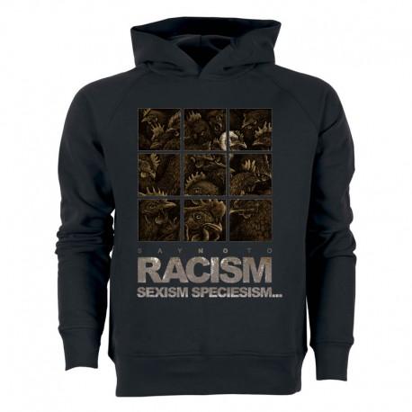 RACISM 4 men's hoodie